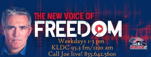KLDC Joe Walsh The New Voice of Freedom